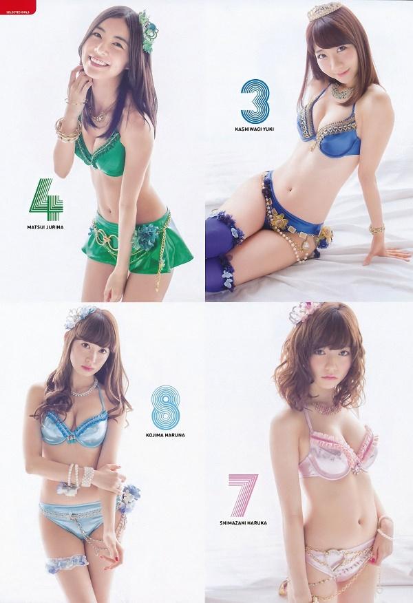 AKB48 - Japanese Female Idol Group (54 фото)