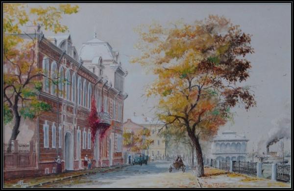 Старая Астрахань художника Юрия Анискина (40 фото)