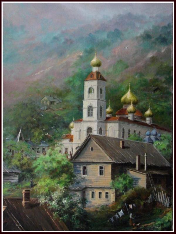 Дальний Восток художника Юрия Анискина (40 фото)