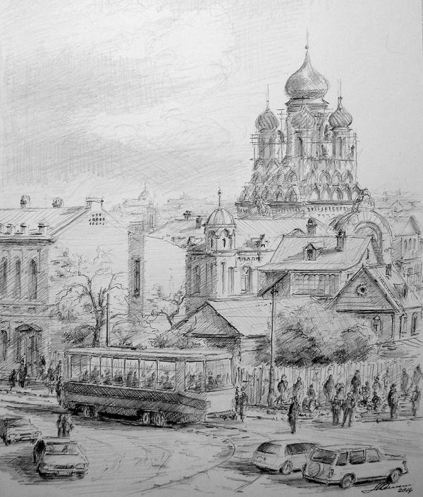 Графика художника Юрия Анискина (49 фото)