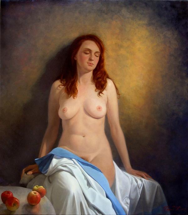 Жанр Ню в живописи 1 (345 фото)