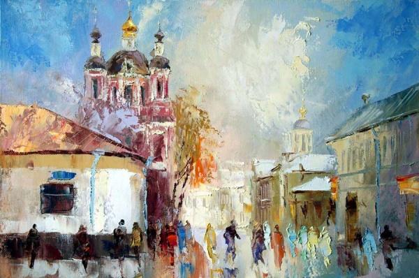 Работы художника Михаила Бровкина (50 фото)