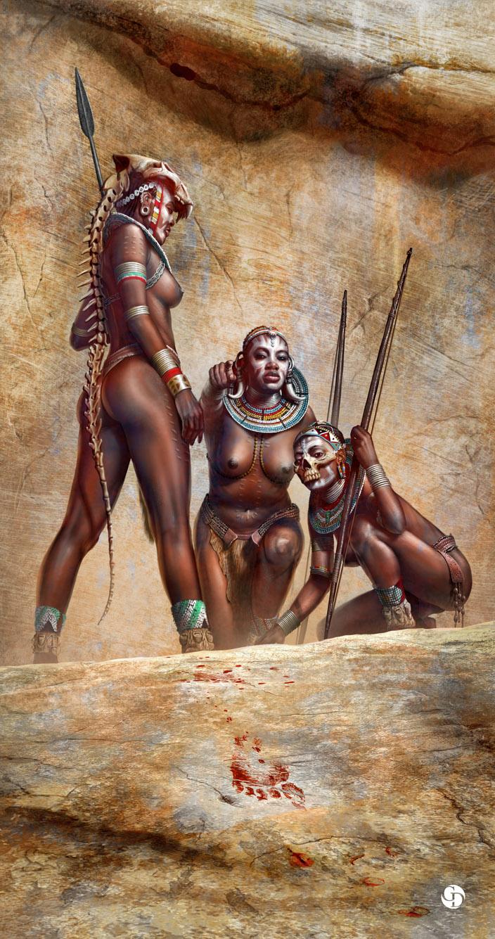 Erotic warrior women manhunt stories smut video