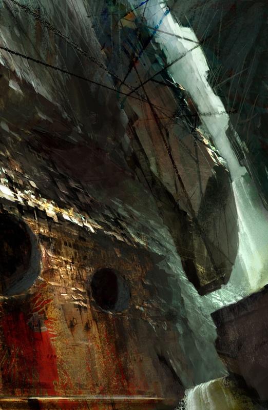 Фантастические города будущего художника Даниэля Доцу (43 фото)