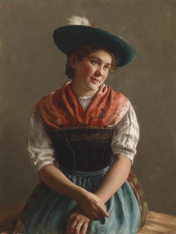 Немецкий художник Emil Rau (1858- 1937) (28 работ)