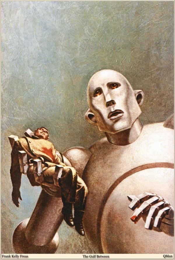 Творчество американского художника-фантаста Фрэнка Келли Фрис (41 фото)