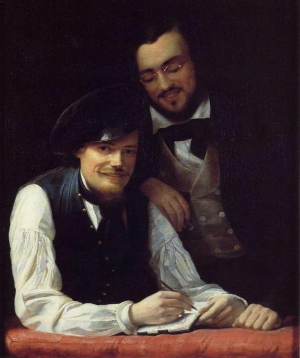 Картины немецкого живописца Франца Ксавьера (72 фото)