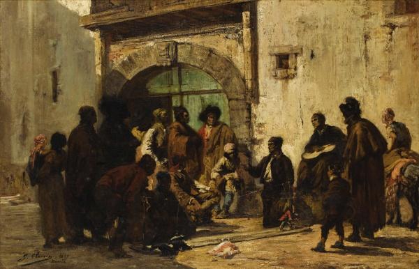 Художник Georges Clairin (French, 1843-1919) (72 работ)