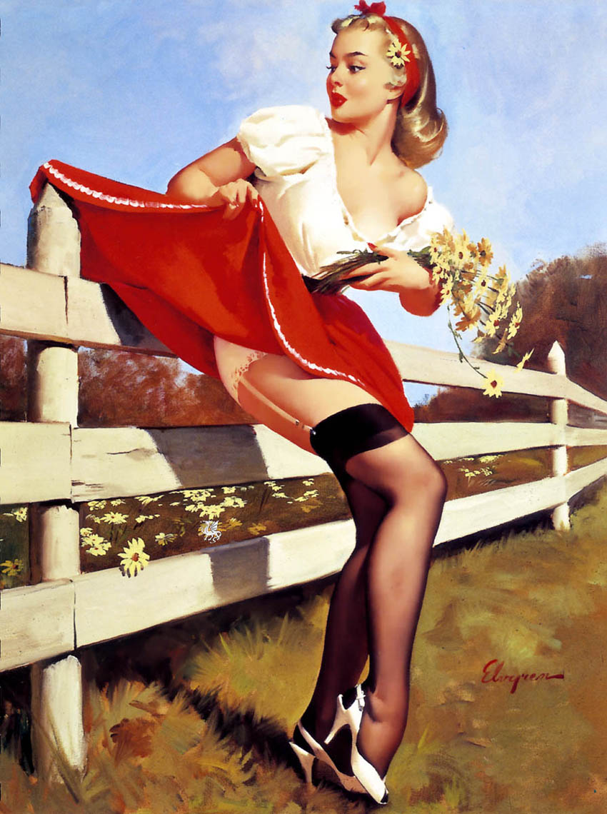Фото ретро женщина на природе 10 фотография