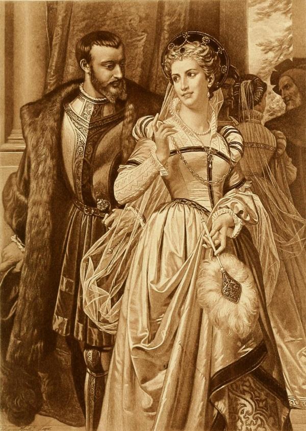 Французский художник Hugues Merle (1823–1881) (44 фото)