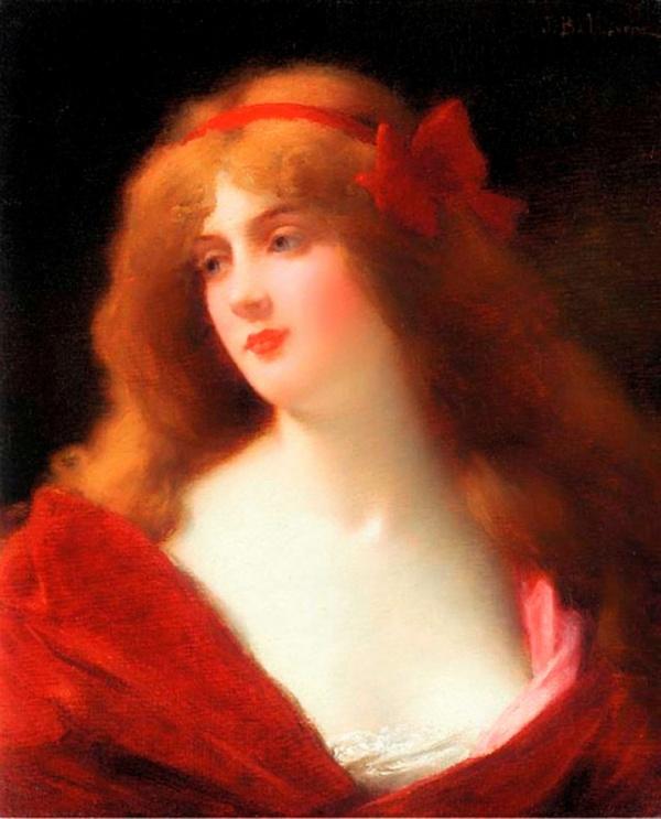 Французский живописец Jules Frederic Ballavoine (1855-1901)