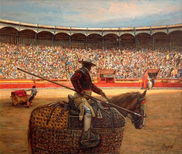 Творчество испанского художника Антонио Капель (23 фото)