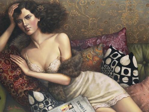 Женские портреты Лаури Бланк (62 фото)