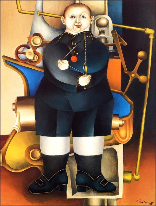 Механистический кубизм Ричарда Линдера (24 фото)