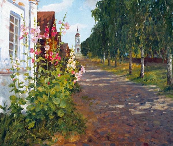 Душевная живопись Олега Молчанова (25 фото)