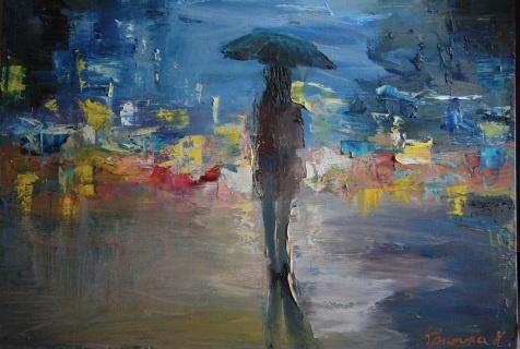 Городская живопись молодой художницы Кристины Нгуен (35 фото)