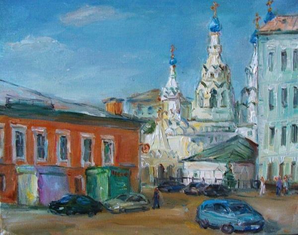 Москва художницы Марины Новиковой (45 фото)