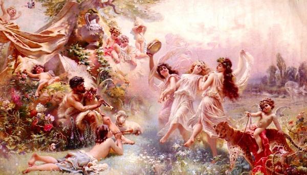Французский художник Paul Jean Gervais (1859 - 1936) (34 работ)