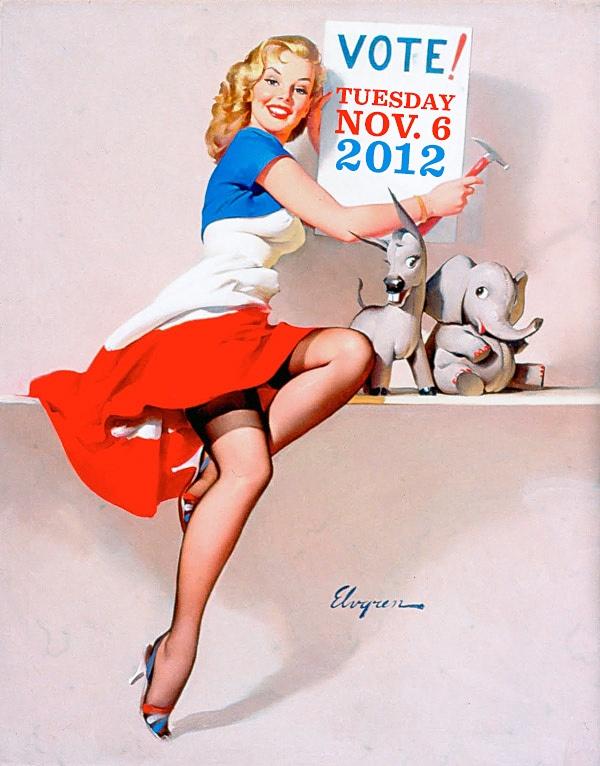 TheGreatAmerican PIN-UP Винтажные девушки (21 фото)