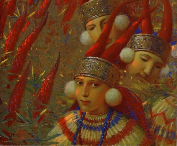 Работы художника Андрея Ремнёва (45 фото)