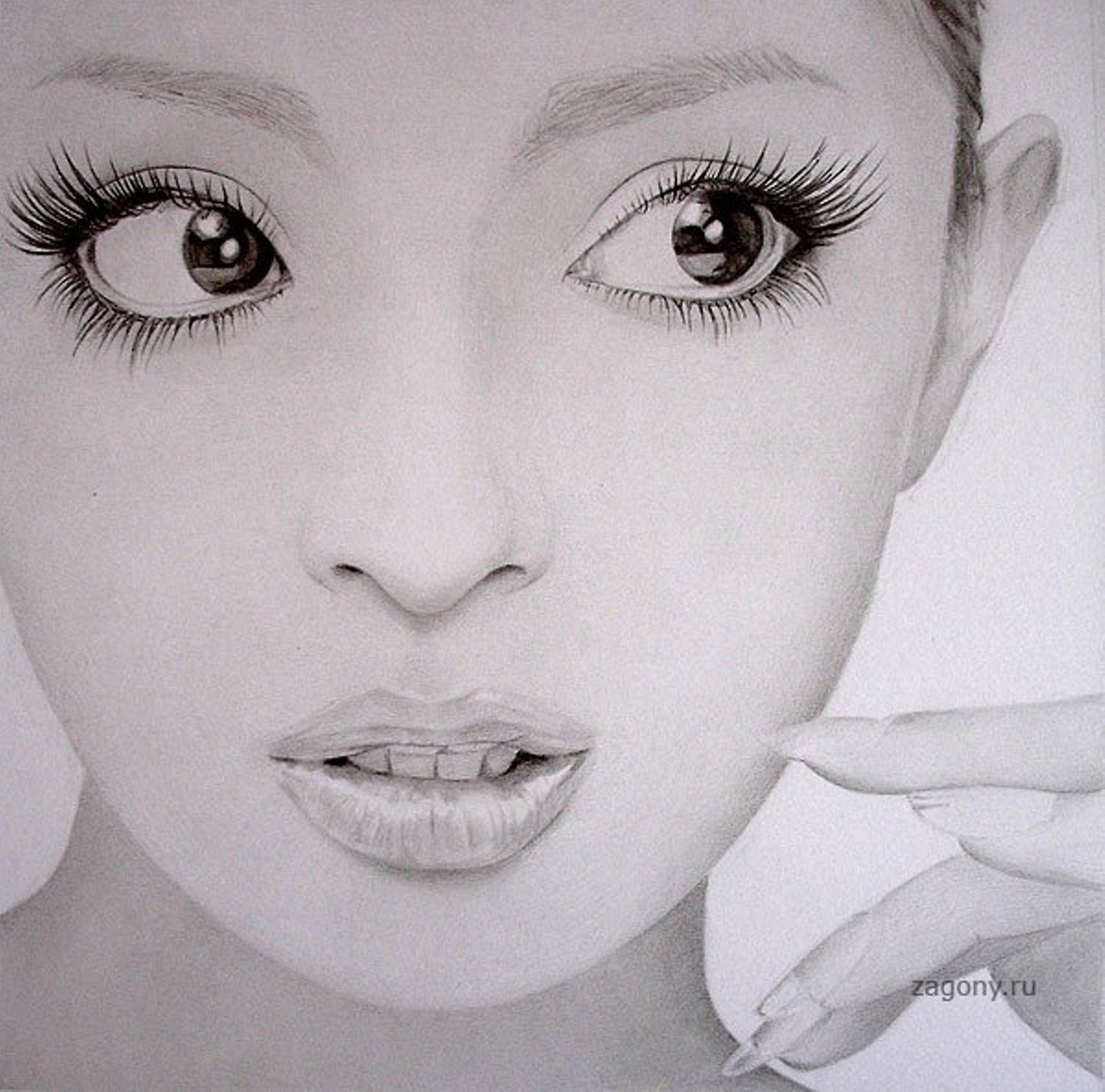 Рисунки карандашом голых девочек 21 фотография
