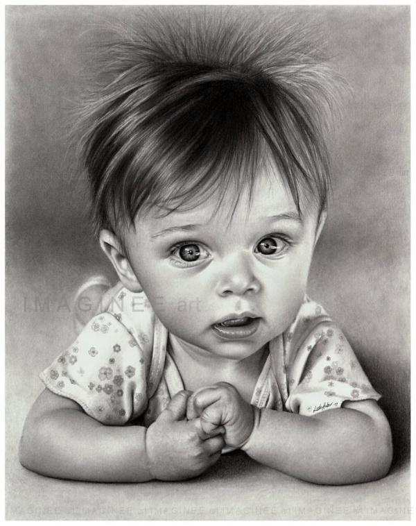 Рисунки карандашом (133 фото)