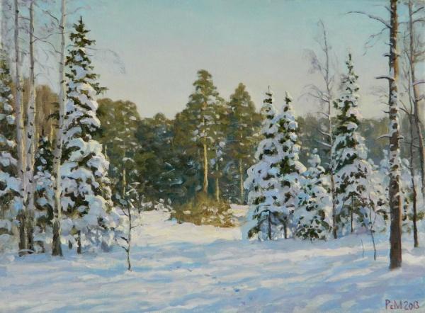 Работы художника Сайфульмулюкова Рема (45 фото)