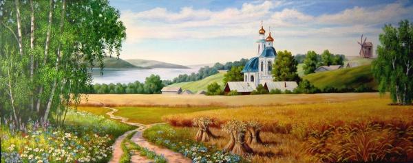 Пейзажи художницы Самарской Елены (27 фото)