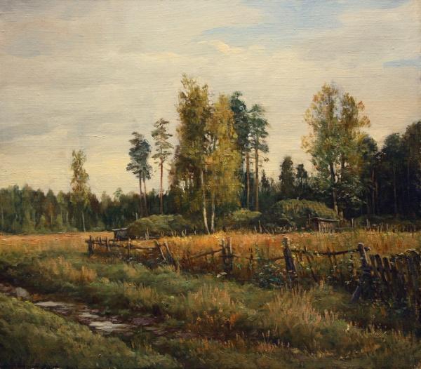 Пейзажи художника Андрея Шишкина (13 фото)