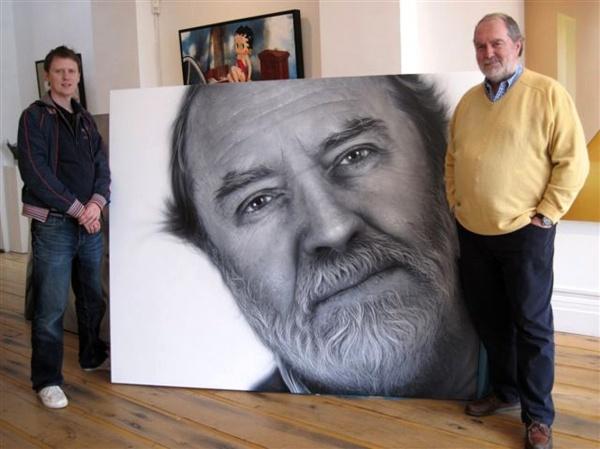 Гиперреализм Simon Hennessey (52 фото)