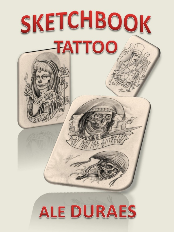Ale Duraes Tattoo Sketchbook (51 фото)