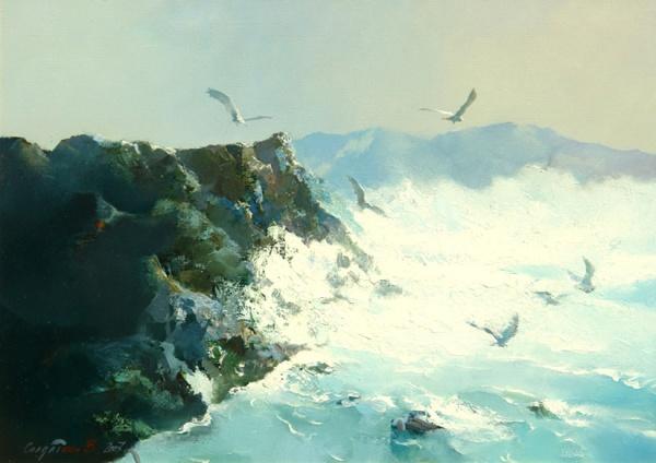 Работы художника Владимира Солдаткина (45 фото)