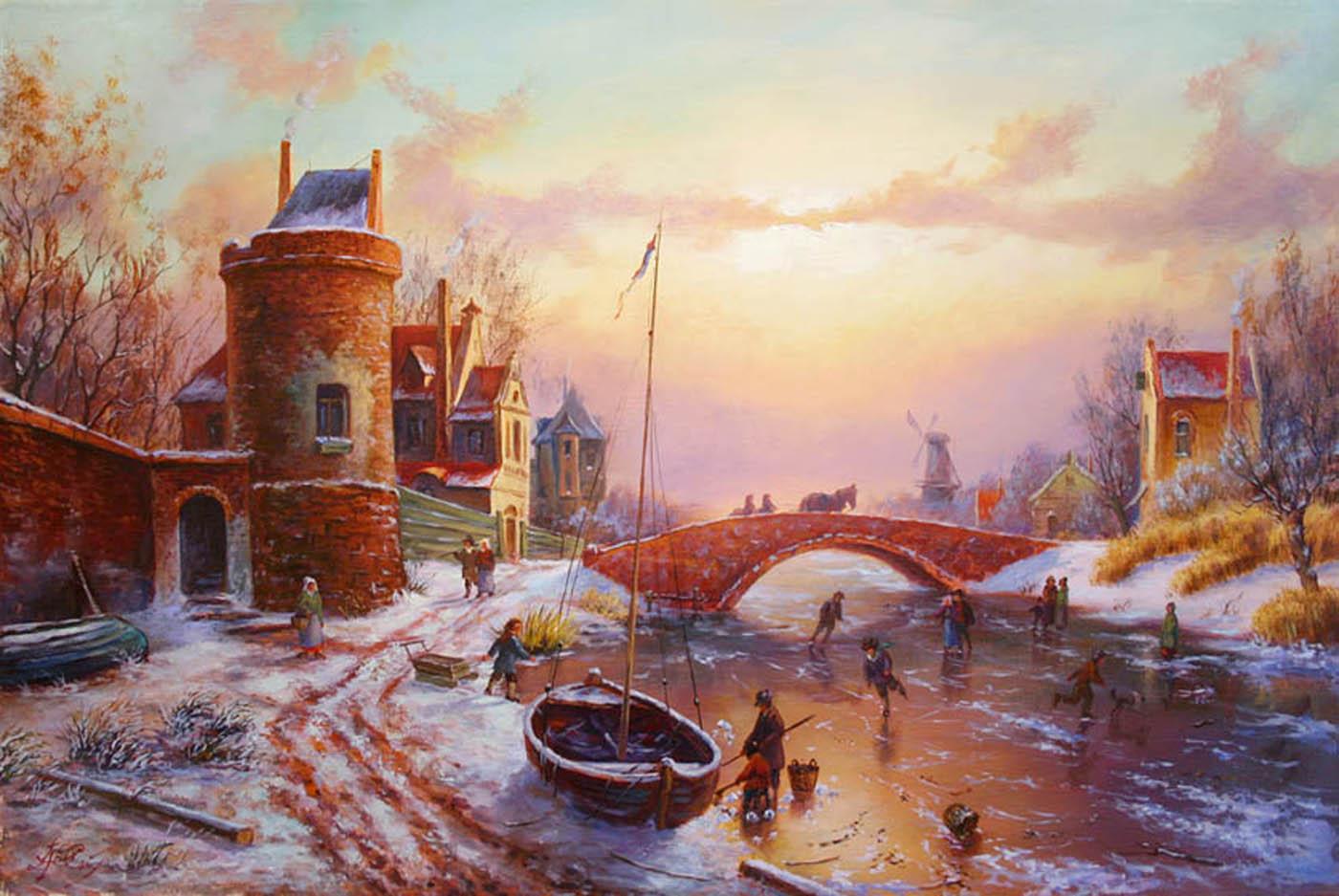 Живопись голландии картинки 4