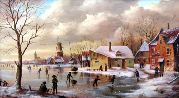 Работы художника Юрия Студеникина (35 фото)