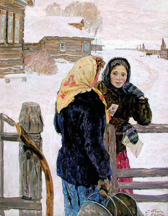 Прекрасные русские художники Алексей и Сергей Ткачевы (28 фото)