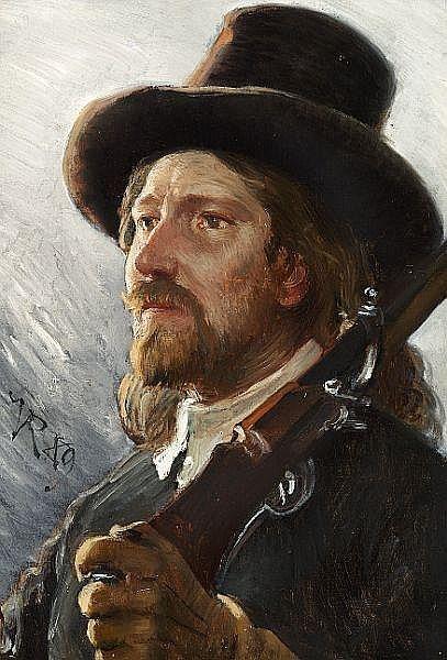 Художник Vilhelm Jakob Rosenstand (Danish 1838-1915) (19 работ)