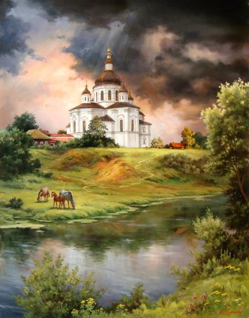 Художник Владимир Абат-Черкасов (220 фото)