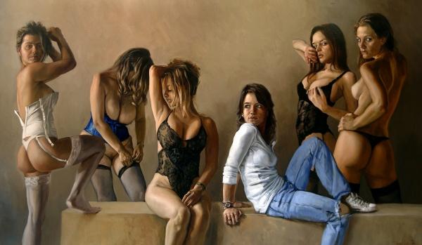 Artworks by Dario Ortiz (140 фото)