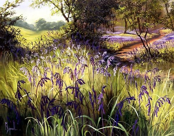 Цветы художницы Mary Dipnall (66 фото)