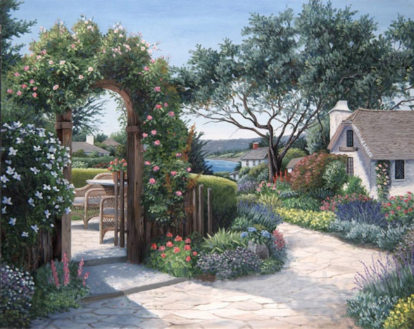 Цветочная живопись Барбары Фелиски (102 фото)