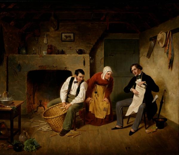 Американский художник Francis William Edmonds (1855-1856) (18 фото)
