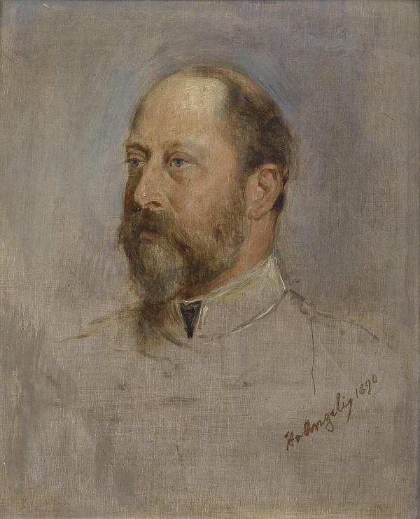 Австрийский жанровый и портретный живописец Heinrich von Angeli (1840-1925)