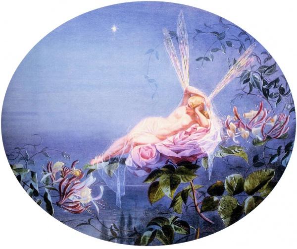 Английский художник John Simmons (1823–1876) (24 фото)