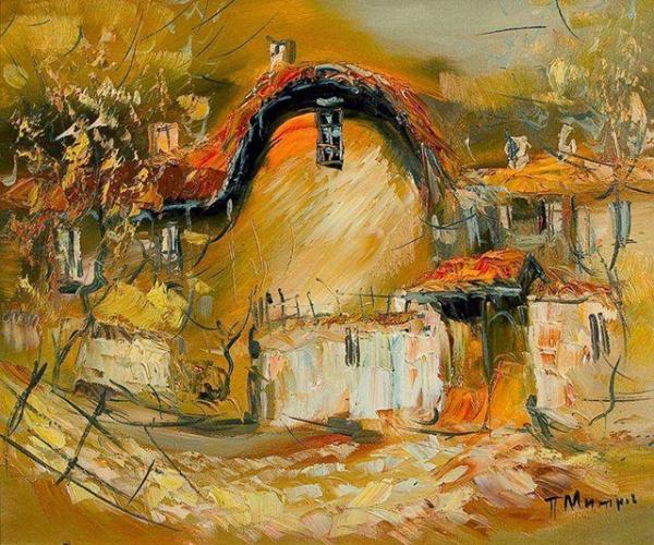 Болгарский художник Павел Митков (78 фото)