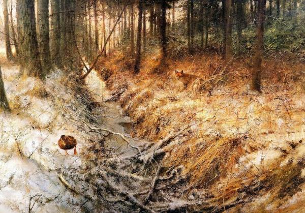 Живопись Rien Poortvliet (1932 — 1995) (306 фото)