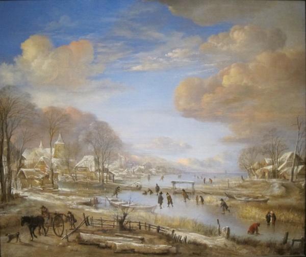 Aert van der Neer Paintings