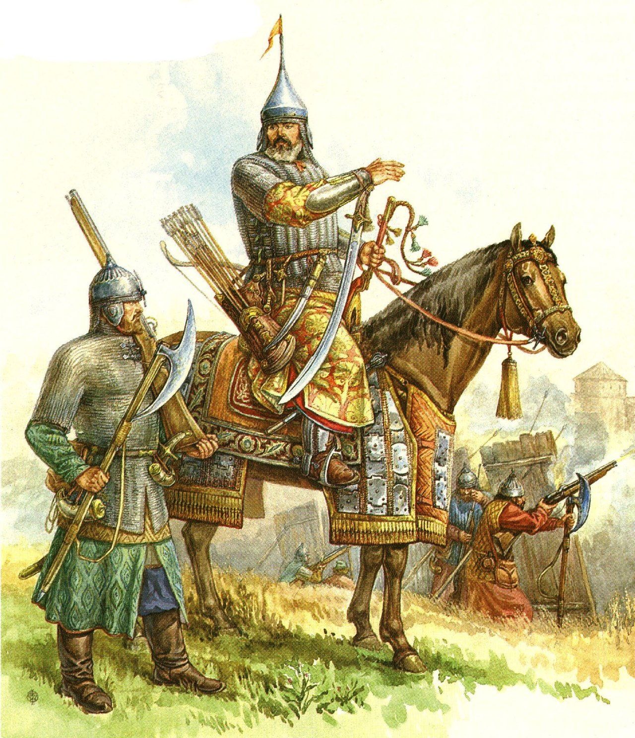 картинки солдаты древняя русь поклонники считают, что