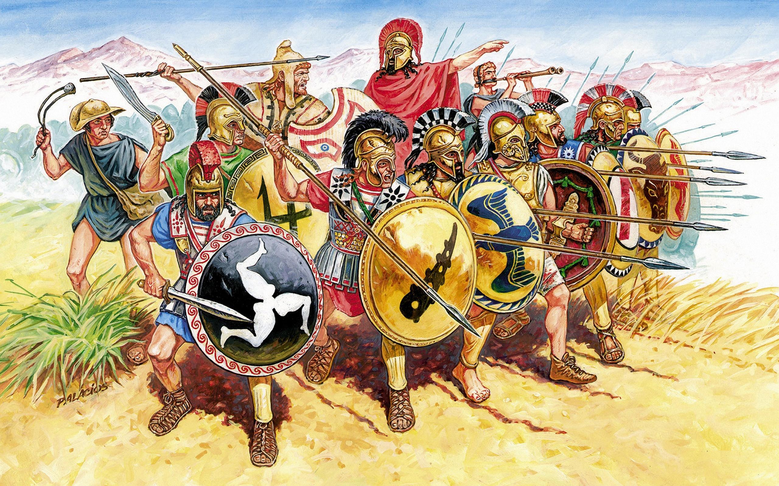 Картинки древнего война