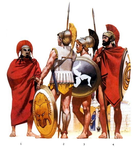 The ancient Greeks at war  BBC Bitesize