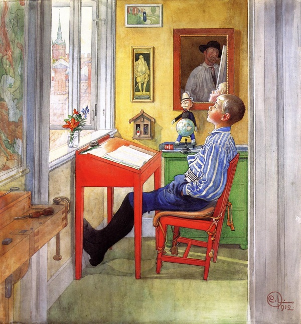 Шведский художник Carl Larsson